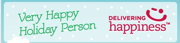 Be a Very Happy Holiday Person!